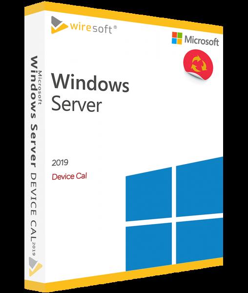 MICROSOFT WINDOWS SERVER 2019 DEVICE CAL