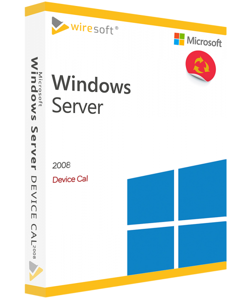 MICROSOFT WINDOWS SERVER 2008 DEVICE CAL