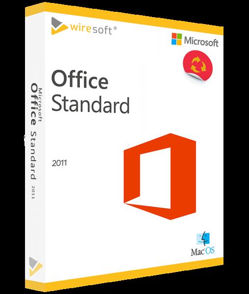 MICROSOFT OFFICE MAC 2011 STANDARD