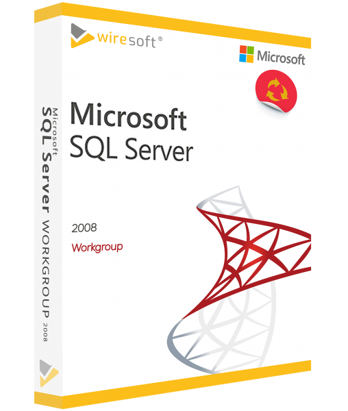MICROSOFT SQL SERVER 2008 WORKGROUP