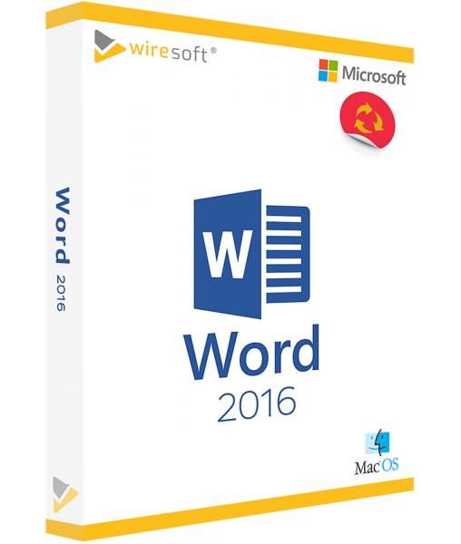 MICROSOFT WORD MAC 2016