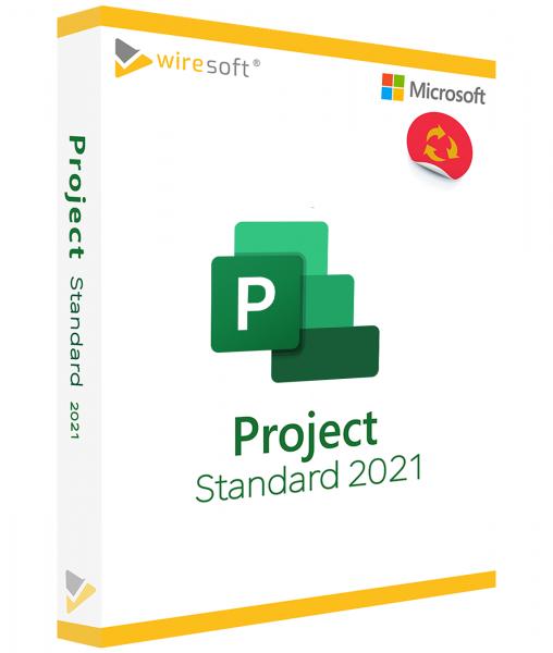 MICROSOFT PROJECT 2021 STANDARD